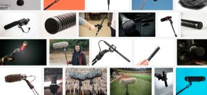 Shotgun Mics Collage
